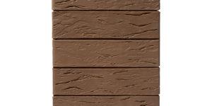 Кирпич керамический облицовочный коричневый рустик 1 нф - Старый Оскол