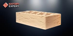 Кирпич керамический облицовочный белый рустик 1 нф - Старый Оскол