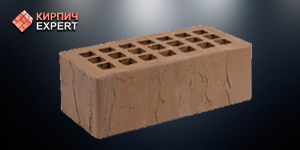Кирпич керамический Тёмно-коричневый Скала 1.4 nf - Железногорск